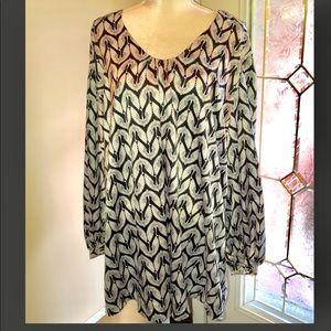 Plus Size Melissa McCarthy Print Dress Size 4X